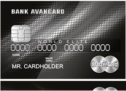 Кредитная карта Mastercard World Elite PayPass